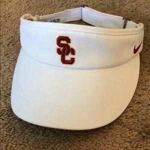 Nike USC Trojan golf visor